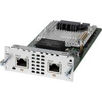 USED Cisco NIM-2MFT-T1/E1 2 port Multi-flex Trunk Voice/Clear-channel Data T1/E1