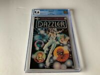 DAZZLER 1 CGC 9.6 WHITE PAGES PRINTING ERROR VARIANT MARVEL COMICS 1981