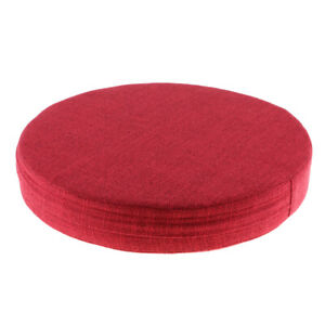 Round Yoga Awaken Meditation Cushion Chair Mat Fitness with Breathable Cover