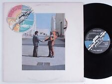 PINK FLOYD Wish You Were Here COLUMBIA LP VG+ w/postcard