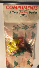 Sinclair Premium Complementary Bag Of Dinosaurs Mint In Package