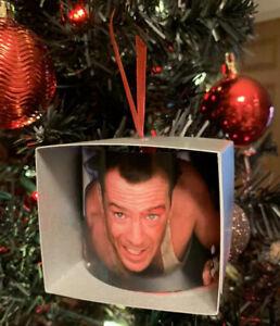 Die Hard Bruce Willis John McClane Vent Parody Funny Christmas Ornament
