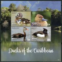ST. VINCENT GRENADINES BEQUIA  2018  DUCKS OF THE CARIBBEAN SHEET MINT NH
