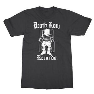 DEATH ROW RECORDS 2Pac Dr. Dre Hip Hop Men's T-Shirt