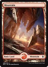 2x 2 x Mountain 268 - Full Art BASIC LAND - Mint MTG Battle for Zendikar