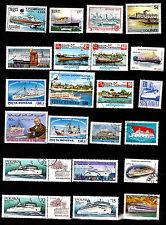 TOUS PAYS :Bateaux de croisières touristiques et Ferries G38