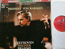 BEETHOVEN WAGNER BRAHMS  Karajan  LP EMI SQ Quadro NM/M