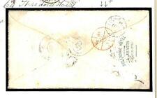 M180 FRANCE Menton Hotel Taxed Inspectors Mark Cover 1875 {samwells}