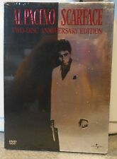 Scarface (DVD 2003 2 DISC Anniversary Edition) RARE 1983 BRAND NEW W SLIPCOVER