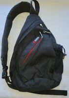 KAKA Small Sling Bag For Slim Figure, Crossbody Backpack Canvas Waterp 14Hx8Lx4W