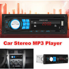 1 DIN Car Stereo Audio Bluetooth In-Dash FM AUX Radio Receiver SD/USB/MP3 Player