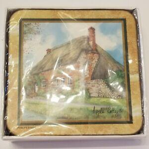 Pimpernel Cottage Coasters Set New