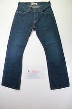 Levi's 512 (Cod. F1860) Tg46 W32 L32  jeans usato vita alta bootcut indigo