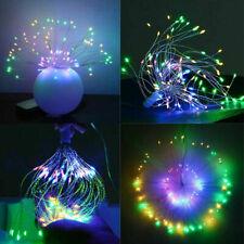 Multicolor LED Dandelion String Lights Remote Control Living Room Bedroom Decor