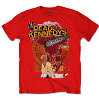 Official Dead Kennedys T Shirt Kill The Poor Red Classic Punk Rock Tee New