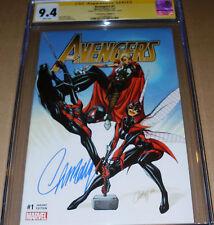 Avengers #1 Gold CGC SS SIGNED J. Scott Campbell Marvel Comicxposure Variant