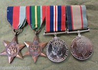 #T49. WWII  SET OF AUSTRALIAN WAR MEDALS RAAF