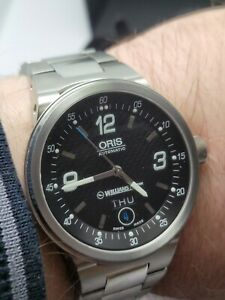 Oris 7560 Williams F1 Team Automatic Wrist Watch Boxed Good condition