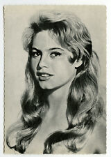 c 1960 Vintage BRIGITTE BARDOT German photo postcard