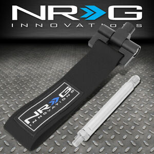 NRG TOW-125BK FOR 07-15 LEXUS IS250 GS430 FRONT/REAR TOW STRAP TOWING HOOK KIT