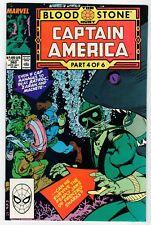 Marvel Captain America #360 - 1st Crossbones App. - Nm Oct 1989 Vintage Comic