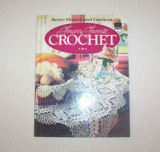 "Better Homes & Garden ""Forever Favorite Crochet""  Pattern Book Hardback"