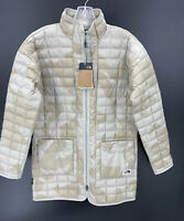 The North Face Womens Small Thermoball Eco Jacket Waxed Tan Camo Print NWT