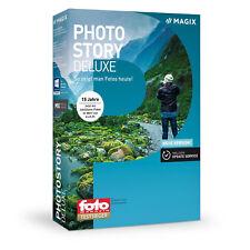 MAGIX Photostory Deluxe 2018 + Bonus Content - Lizenz - Key