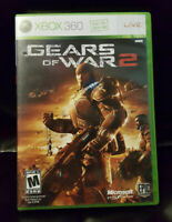 XBOX 360 GEARS OF WAR2 - 2008 Shooter Video Game FREE Shipping!