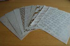 10 Assorted Sheets Patterned Vellum Set 2