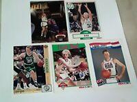Larry Bird Boston Celtics Lot of 5 Basketball Cards HOF!!!
