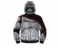 Star Wars The Force Awakens Captain Phasma Costume Adult Fleece Hoodie