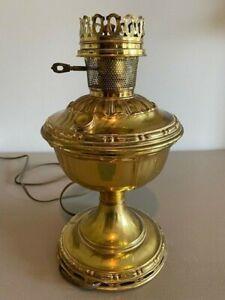 ALADDIN LAMP MODEL #7 Satin Brass