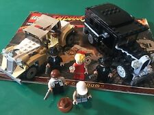 RARE LEGO 7682 INDIANA JONES set * Shanghai Chase * 100% complet + Instructions
