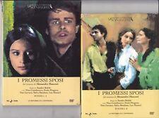 2 Dvd I PROMESSI SPOSI di Sandro Bolchi con Nino Castelnuovo completa nuovo 1967