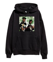 Eric B & Rakim Paid In Full Hoodie Hip Hop Vintage Rap Sweatshirt merch Black