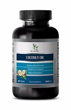 Coconut extract - COCONUT OIL 3000 mg -Protects against degenerative problems 1B