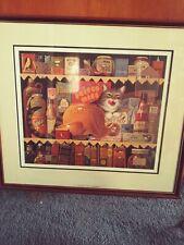 "L👀K Charles Wysocki ""Ethyl the Gourmet"" Framed S/N #2125/10179"
