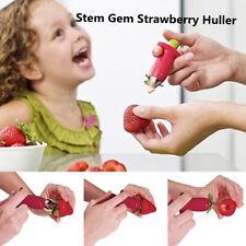 Strawberry Berry Stem Gem Leaves Huller Remover Fruit Corer Kitchen Tool Eforce