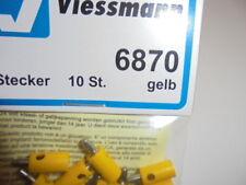 VIESSMANN 6870 Tapón del orificio cruzado amarillo,10-pc # NUEVO EN EMB. orig. #