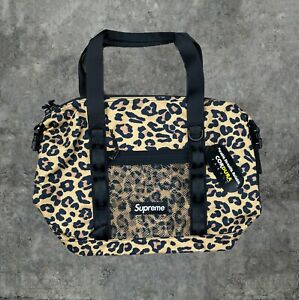 Supreme FW20 Leopard Zip Tote Bag