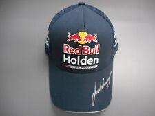 NEW Red Bull Racing Australia 3D Sponsor Cap Signed Jamie Whincup