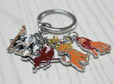 The Lion King Movie Character Key Chain Ring Metal Toy Collectible