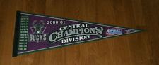 2001 Milwaukee Bucks Central Division Champs pennant Ray Allen Big Dog Cassell
