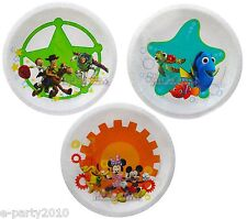 DISNEY LARGE PAPER PLATES TOY STORY NEMO MICKEY (20) ~ Birthday Party Supplies