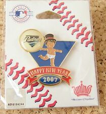 2007 San Diego Padres Baby New Year's pin