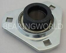 Sapft205 16 High Quality 1 Eccentric Pressed Steel 3 Bolt Flange Bearing