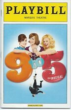 9 to 5 NINE TO FIVE Playbill + color ad flyer Dolly Parton Megan Hilty (SMASH)