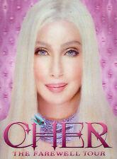 CHER - THE FAREWELL TOUR - DVD ( HOLOGRAM COVER ) REGION 4 AUSTRALIA - RARE !