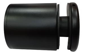 Black Adjustable Stand-Off (for Juliet Balcony) 316 Grade S/S Satin 50 x 50mm